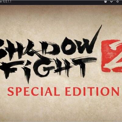 녹스 앱플레이어 에서 게임 shadow fight 2 APK 파일을 구동 해 보다