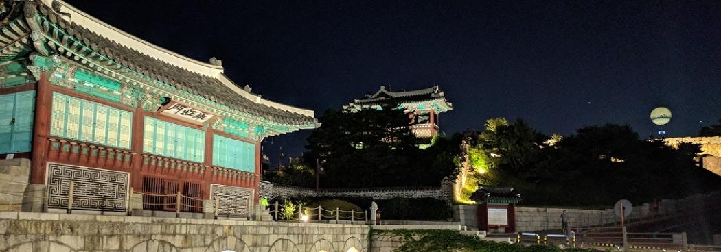 야간 자전거 택시로 즐기는 <수원문화제 야행>