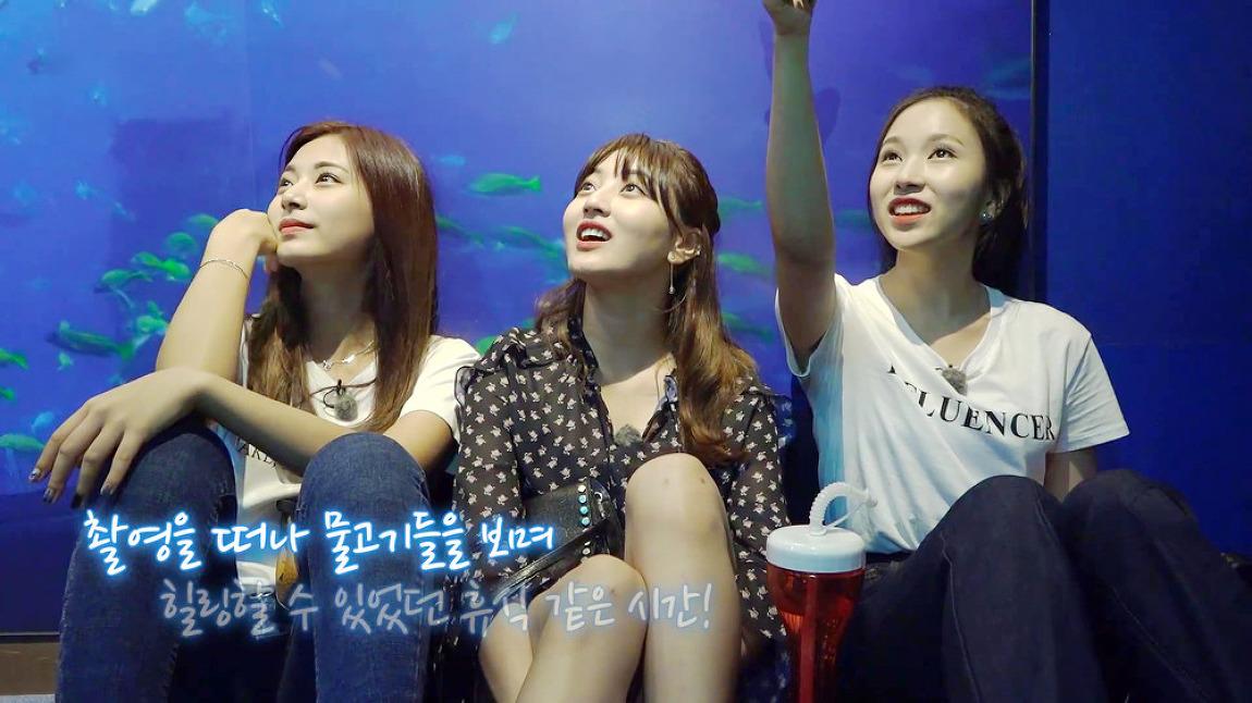 171209 TWICE TV6 EP.10 In 싱가포르 지효 미..