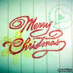 리놀륨 스탬프 - Merry Christmas!