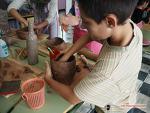 한국인 엄마 수업에 열광한 스페인 고산 초등학생들