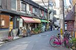 오사카의 카페 골목 나카자키쵸 카페거리를 걷다.