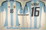 02/04 Argentina Home S/S No.16 Aimar - WC02 Ver.