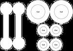 연결된 링 (The Linked Rings) 퍼즐을 만들 수 있는 도안을 공유합니다.