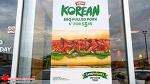 캐나다 서브웨이에 한국 샌드위치가 떴다!