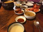 마포역 맛집 생채비빔밥 과 파전 동동주
