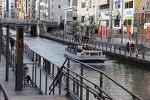 오사카 자유여행 10 - 돔보리(도톤보리) 리버크루즈 타기