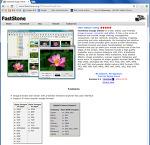 이미지 뷰어 프로그램 패스트스톤(FastStone)