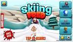 Skiing Fred  -재밌는 안드로이드 스키 게임