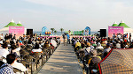 해운대 명물 축제 제6회 해운대 하와이언 페스티벌 열려