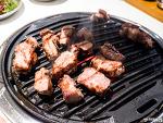 """마포 맛집, 목살이 맛있는 """"슈퍼삼겹살"""""""