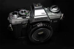 MINOLTA X-700 Silver