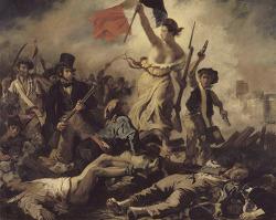 '자유의 여신상' 모티브가 된 들라크루아의 그림
