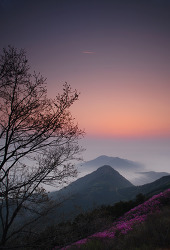 천주산의 새벽
