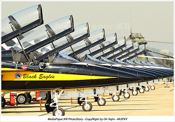 ADEX 2011 - ROKAF  /  T-50 BlackEagels AeroBatic Team