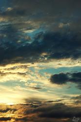 # 하늘에 가득한 먹구름 (2008.07.08)