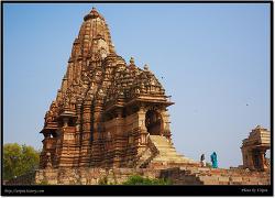 서부 및 동부사원 모습 (Khajuraho, India)
