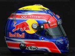 F1 Formula 1 마크 웨버(Mark Webber) 헬멧 디자인
