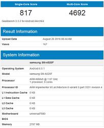 엑시노스7870/7880 GPU 사양 추정. (Exynos 7870/7880)