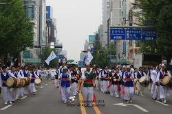6.10민주항쟁 광주민주대행진.