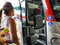 스페인 고속버스, 한국과 다른 점 몇 가지