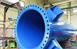 압력용기 종류 : 외압시험용 대형압력용기
