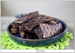 [수제간식] 소고기 육포 만들기^^