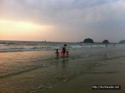 2013년 여름휴가 가족여행 : 안면도 2박 3일, 삼봉해수욕장, 꽃지해수욕장, 팜카밀레, 씨송펜션, 안섬포구