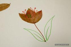 표현력을 길러주는 낙엽을 이용한 아빠표 미술놀이~!
