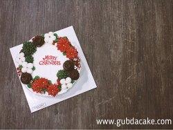 크리스마스케이크 원데이클래스 - [굽다케이크] 포인세티아 버터케이크, 목화솜버터케이크 & 딸기생크림케이크 - 선물용케이크, 특별한케이크 만들기