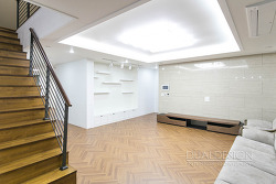 복층 인테리어 수원 이의동 호반가든하임 45평 아파트