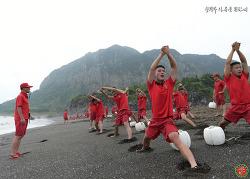 9여단 해병들의 여름나기 전투수영훈련!