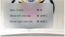 트위터 공식 앱 아이패드 키보드 단축키