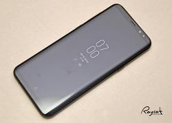 갤럭시 S8 플러스 블랙 자세히 들여다 보기