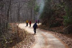 하동 지리산 회남재 숲길 도보여행