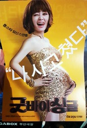 [한국 코미디 영화 추천] 영화 굿바이 싱글 후기 : 김혜수와 어느 중학생의 울고 웃는 임신 이야기 / 2016. 07. 02