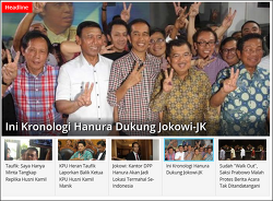 인도네시아 대통령 누구 뽑았냐고 물어본다면?