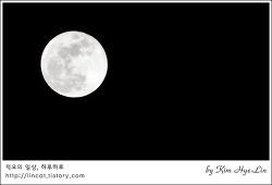 [적묘의 정월대보름]2017년, 보름달에 소원빌기,나물에 오곡밥