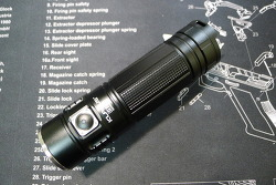 Klarus G20 XHP70 3000lm 1x26650 flashlight