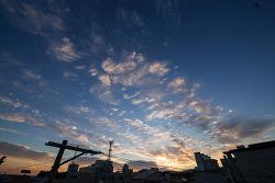 #129 오늘 아침의 하늘 풍경...