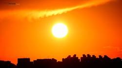 오늘 서울 서쪽하늘 석양 Sunset