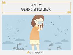 황사와 미세먼지 예방법 완벽정리!