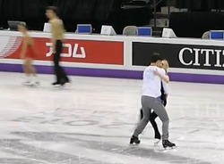 2013 세계선수권 영상 - 페어 공식 연습
