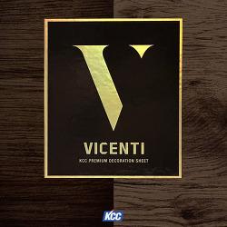 KCC 데코레이션 시트 샘플북 VICENTI-비센티 출시