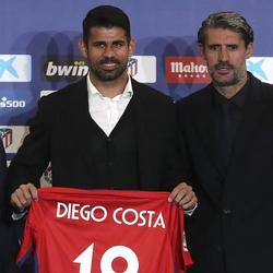 아틀레티코 마드리드 복귀 첫 경기에 골 넣은 디에고 코스타