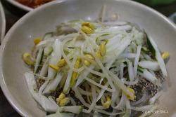 군산 맛집, 비빔 콩나물 잡채로 유명한 안젤라 분식