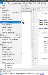 [JavaScript] IDE(WebStorm) 웹스톰 자바스크립트 작업환경 버전을 ES6이상으로 설정하기 관련