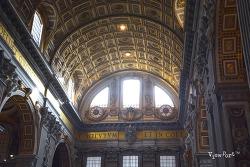 바티칸의 중심 성 베드로성당(바티칸성당,산 피에트로성당)Basilica of St. Peter -로마여행