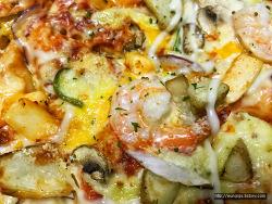 도미노피자 킹프론 씨푸드 피자