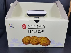 진주성 튀김소보로빵 맛집 명물이네!